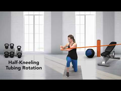 Half-Kneeling Tubing Rotation