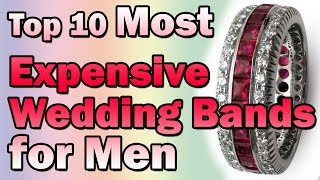 Most Expensive Wedding Bands For Men | Nfx Fashion Tv
