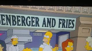 Professor Farnsworth in The Simpsons! 😻😍