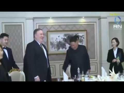King Jon-China Aceita Nova Cúpula com Trump