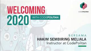Welcoming 2020 with CodePolitan