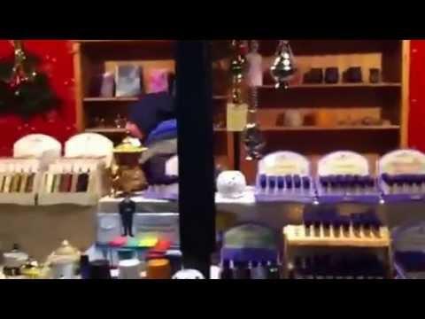 Kleines, lustiges Video vom Weihnachtsmarktstand in Deggendorf