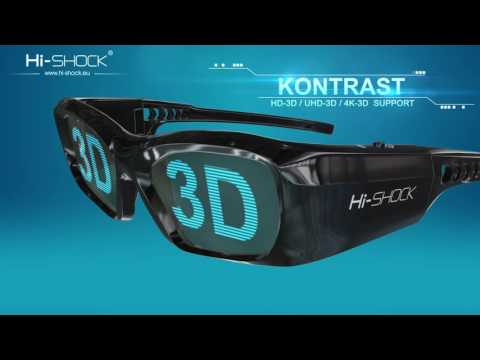Hi-SHOCK 3D Brillen / VR Lösungen für Heimkino | TV & Beamer | Hight Contrast & High Brightness