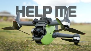 Save Your DJI FPV with Turtle Mode