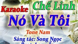 Karaoke Nhạc Sống - Nó Và Tôi - Tone Nam - Keyboard Long Ẩn