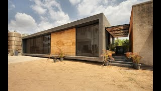 Office At Threshold In Chattral, Gujarat By Reasoning Instincts Architecture Studio