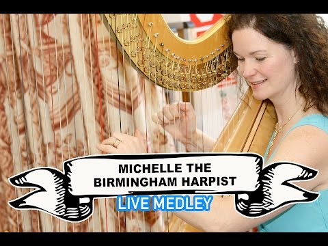 Michelle The Birmingham Harpist Video