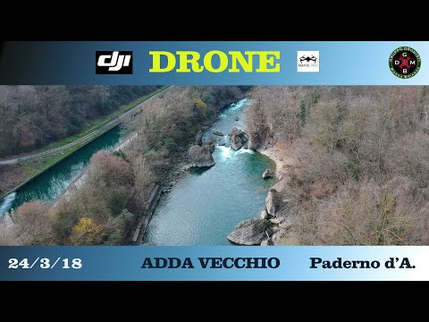 ADDA VECCHIO In volo col drone