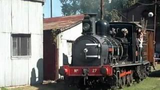 preview picture of video 'Tren del Ferroclub Argentino Lynch'