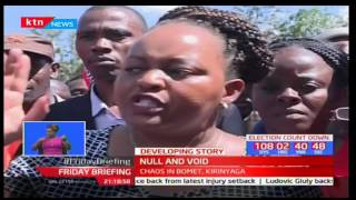 These is what forced the Jubilee secretariat's nominations nullification decision