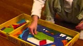 Toys That Teach: Melissa & Doug Animal Pattern Blocks Set