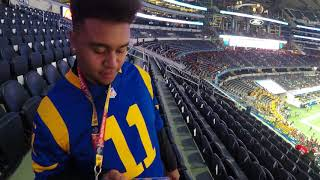2017 Cotton Bowl Row 8 Seats @ AT&T Stadium