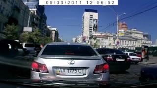 Авто подставы Лексус на видеорегистратор