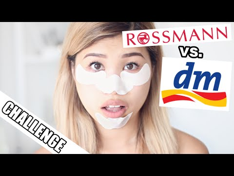 DM vs ROSSMANN BEAUTYBATTLE #3 l ANTI PICKEL STRIPES & MATTE LIPCREAMS IM LIVE TEST l Kisu