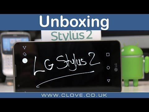 LG Stylus 2 Unboxing