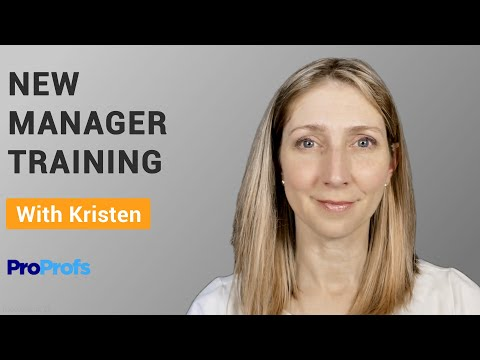 What is New Manager Training? - YouTube