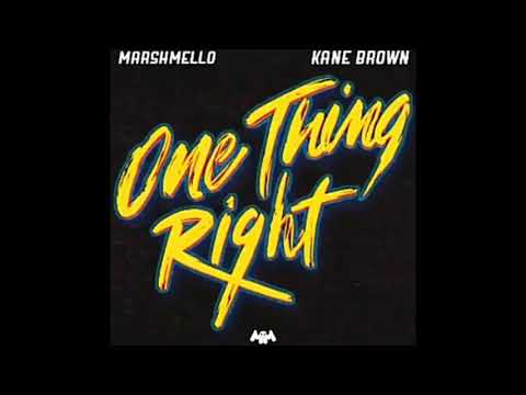 Marshmello - One Thing Right ft. Kane Brown (Preview)