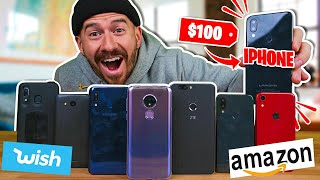 I Bought All The Smartphones on Amazon..
