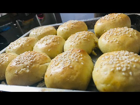 Chicken Buns soft and spongy chicken Buns 