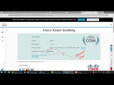 Cisco has announced 50% off on all exams! for CCNA   CYBEROPS
