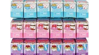 Smooshy Mushy Besties Series 4 Blind Boxes Unboxing Toy Review Snackies, Munchies and Sweeties
