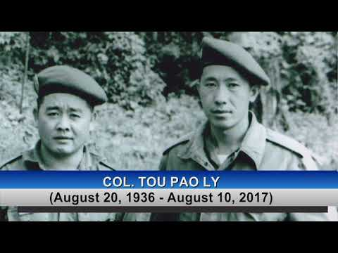 3 HMONG NEWS: Details of Col. Tou Pao Ly's funeral.