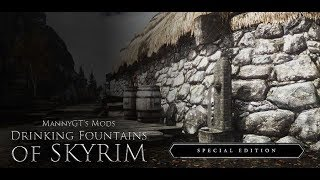 [MOD] Drinking fountains of Skyrim for Special Edition