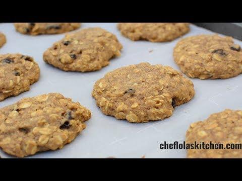 Oatmeal Raisin Cookies With Honey