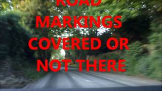 preview picture of video 'Massive problems with roads in liphook'