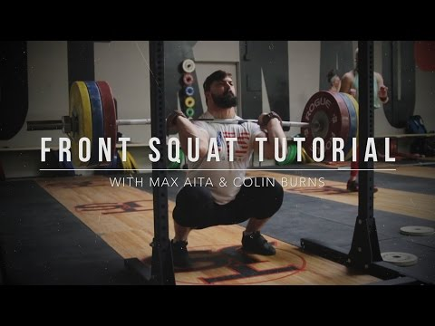 Front Squat Tutorial | JTSstrength.com