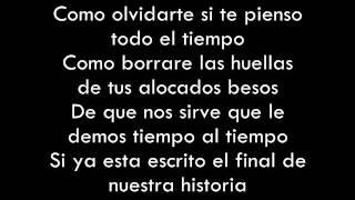 El final de Nuestra Historia-La arrolladora Banda Limon -(Letra)