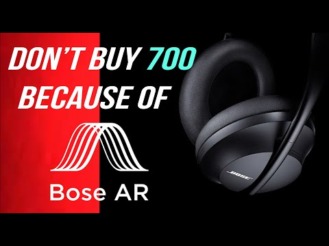External Review Video CndsV9A64_w for Bose Noise Cancelling Headphone 700