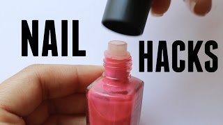 20 NAIL HACKS YOU NEED IN YOUR LIFE | Banicured