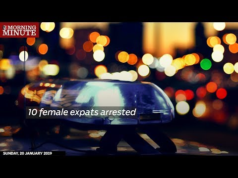 10 female expats arrested