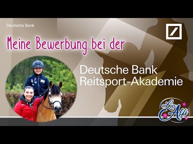 lia alfi bewerbung - Deutsche Bank Bewerbung