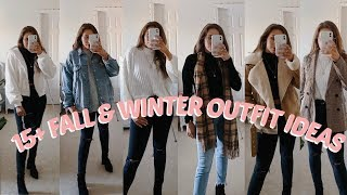 15+ FALL & WINTER OUTFIT IDEAS | LOOKBOOK