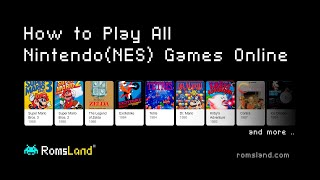 Play All Nintendo (NES) Games Online