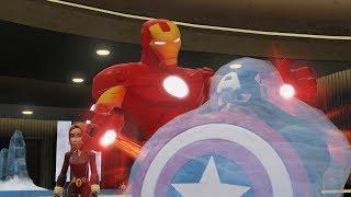 Marvel Super Heroes - Iron Man - Disney Infinity Cartoon Movie Game for Kids HD ツ