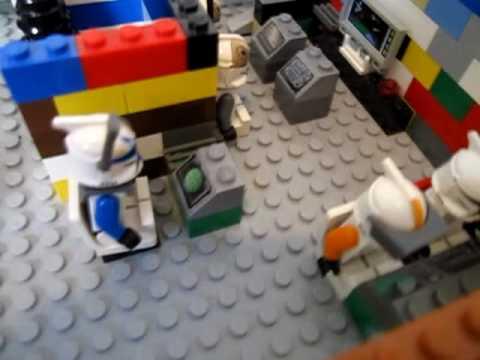 awesome lego star wars clone base lego clone wars 501st