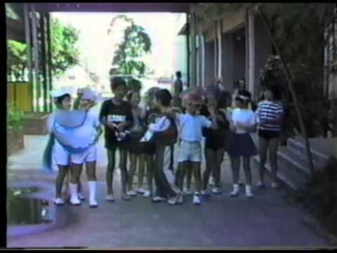 西有馬小学校学芸会の後の映像