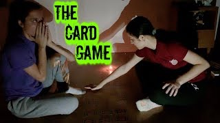 PLAYING THE CARD GAME RITUAL! (HAUNTED CHALLENGE)