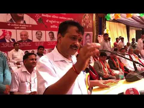 Delhi CM Arvind Kejriwal at Akhil Bhartiya Agrawal Samaj , Jind (Haryana)