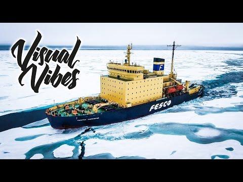 מדהים! סרטון המציג את האזור הארקטי בזווית חדשה ונפלאה