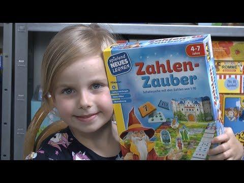 Zahlenzauber (Ravensburger) 4 bis 7 Jahre - Lernspiel rund um Zahlen