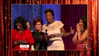 The Talk Daytime Emmys Aisha's Envelope Mishap!