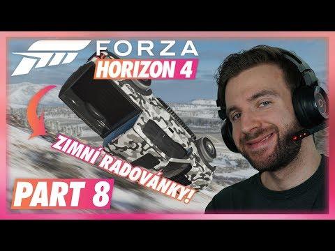ZIMNÍ RADOVÁNKY!   Forza Horizon 4 #08