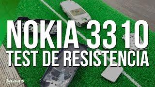 Nokia 3310 original (año 2000) - Test de resistencia