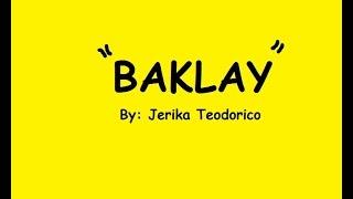 Jerika Teodorico - 'Baklay' (VISPOP 4.0)