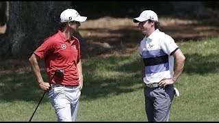 2014 PGA Memorial - Adam Scott & Rory Mcilroy 1st Round