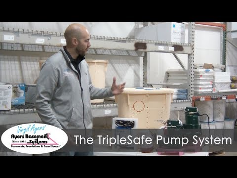 The TripleSafe pump system is the absolute best when it comes to keeping your basement dry at all times. Find out more about this first-class sump pump system by watching the video.